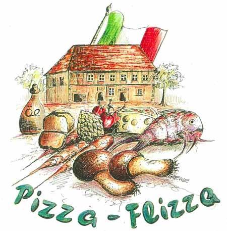 Pizza für 2 Personen